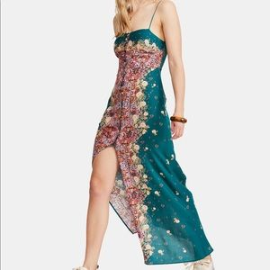 NWT Free People S Morning Song Maxi Dress